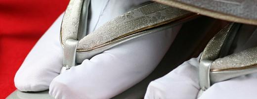 着付けに必要な肌襦袢・裾よけ・足袋